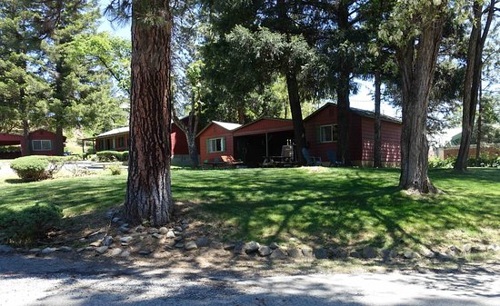 Weaverville, CA: View of cabins.