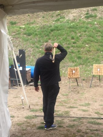 Jackson Hole, WY: Tomahawk throwing