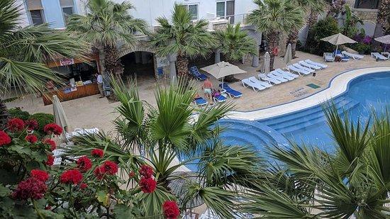 Parkim Ayaz Otel: Overlooking Bubble Pool