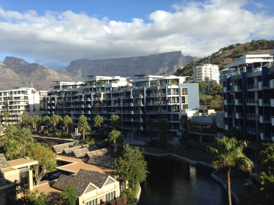 One&Only Cape Town: view of Table Mountain from my balcony