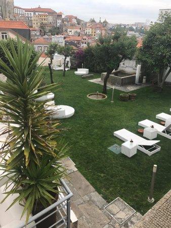 Vitoria Village: Vista desde segundo piso de Suite
