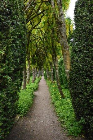 Nairn, UK: Inside the walled garden
