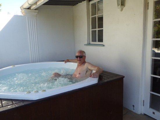 Wellington, แอฟริกาใต้: Hot tub