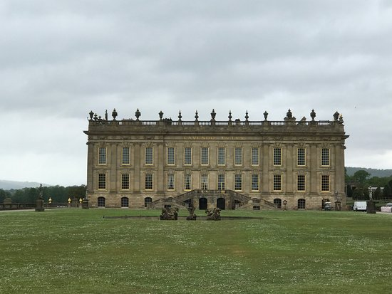 pride & prejudice souvenir - picture of chatsworth house, bakewell