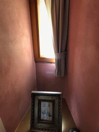 Hotel Herrnschloesschen: niche in the Amaryllis #1 room