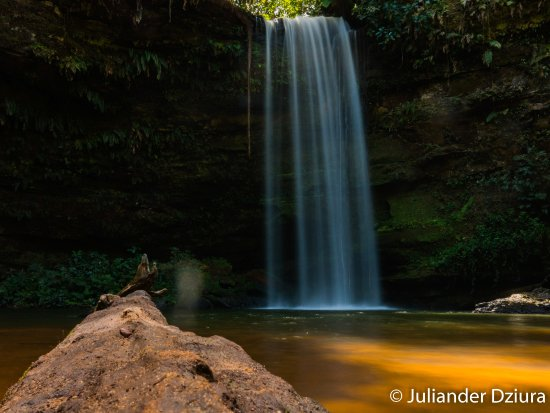 Evilson Waterfall: Cachoeira do Evilson. Ótima para banho!