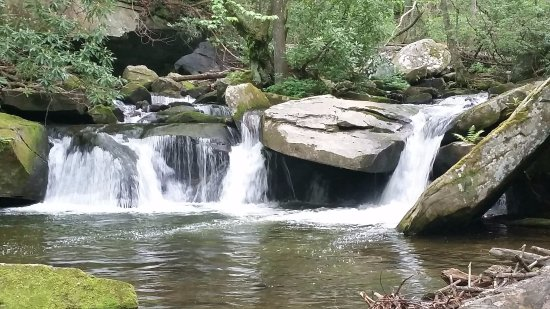 Brevard, NC: I called it catfish Falls...