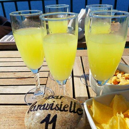 Villa Garden Hotel Wine Bar : Limoncello - yum!