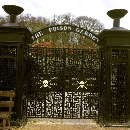 Alnwick, UK: Poison Garden