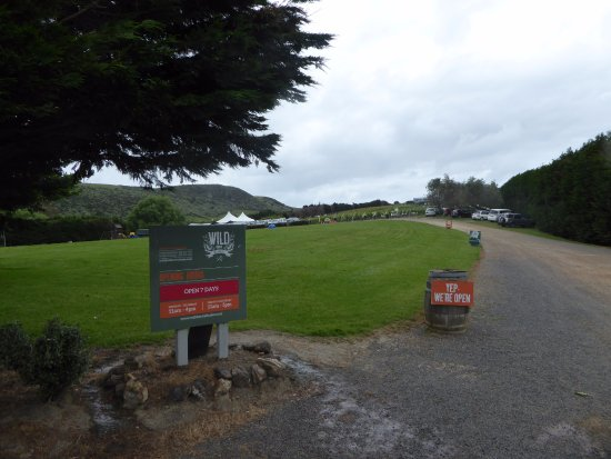 Waiheke Island, Neuseeland: Sign