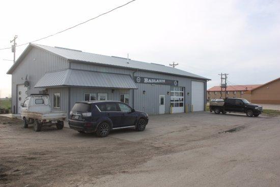 Kadoka, Güney Dakota: The Badlands Distillery