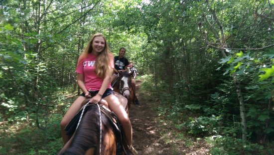 Rhinelander, WI: Happy trail riders