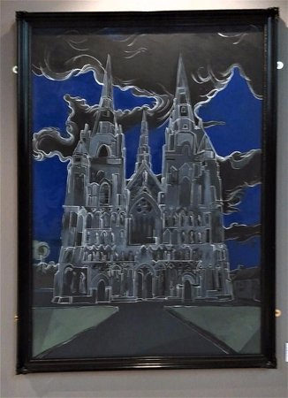 Lichfield Cathedral, by Peter Walker, the artist in residence