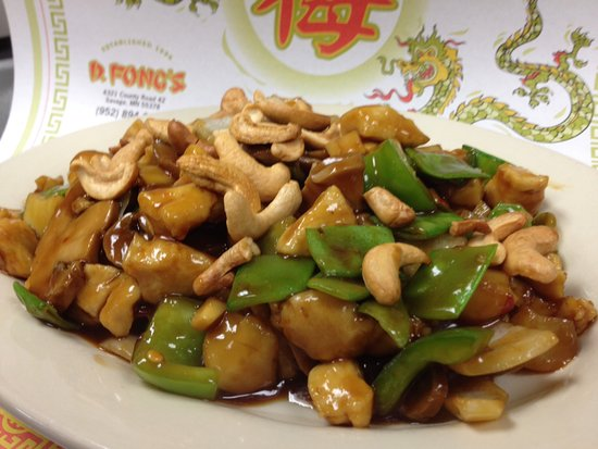 Kung Bo Chicken Chinese Vegetables In A Dark Kung Bo Sauce Topped With Roasted Cashews Picture Of D Fong S Chinese Cuisine Savage Tripadvisor