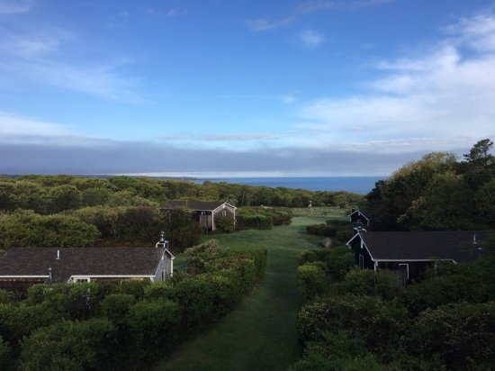 Menemsha Inn and Cottages: this is a photo from our deck... taken at 7:03am. Glorious!
