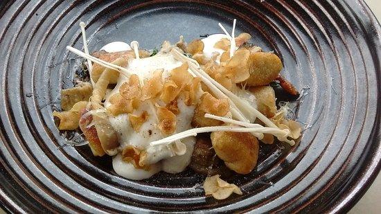 Cowaramup, Australia: Gnocchi with mushrooms