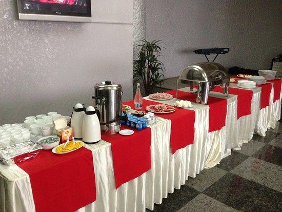 Focsani, Romania: Frühstück