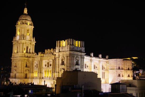 Don Curro Hotel: Veduta sulla Cattedrale dalla finestra della camera