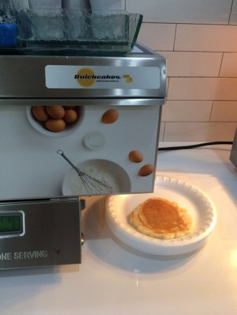 Gretna, NE: Pancakes- You can hit the button multiple times to get more than one pancake
