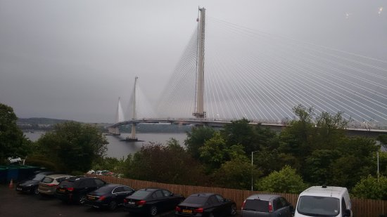 North Queensferry, UK: New bridge