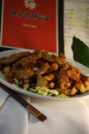 Savage, MN: Sesame Chicken:  breaded chicken breast with a sweet, tangy, mildy spicy Sesame sauce