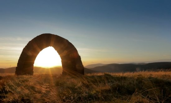Moniaive, UK: Striding Arches at Cairnhead