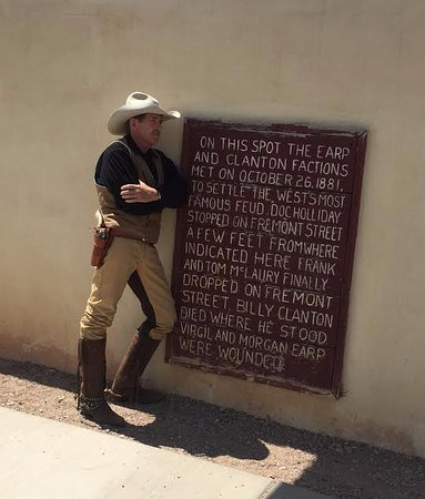 Tombstone Monument Ranch: Doc at the OK Corral