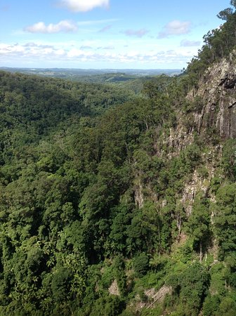 Bangalow, Australia: View looking over towatds Byron Bay