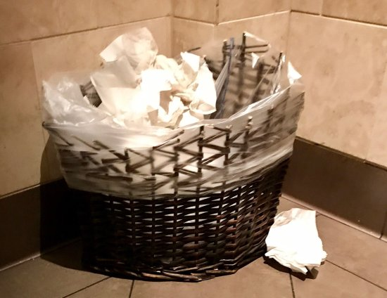 Novi, MI: 1st customers @ 11am--still unacceptable! Overflowing trash, dried whipped cream on seat & 3 mor