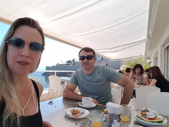 Mare Nostrum: Café da manhã no Hotel