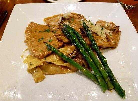 Warrenton, VA: Delectable Scallopini with rich, delightful sauce