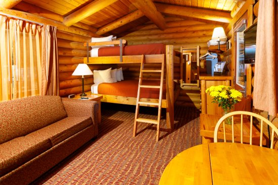 Two Queen Bunk Bed Picture Of Cowboy Village Resort Jackson