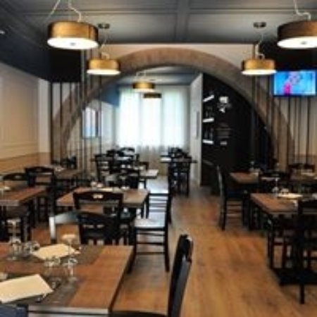 Sala accoglienza del ristorante