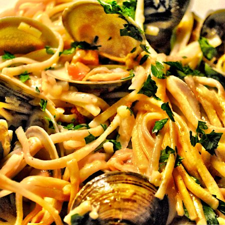 Ocean, NJ: Linguine with White Clam Sauce