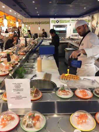 Ristorante my sushi rinascente in milano con cucina for Carta rinascente