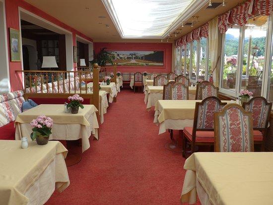 Fuschl am See, Austria: Der Speisesaal im Stammhaus