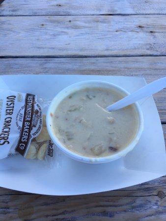 Rockport, MA: Incredibly Fresh Clam Chowder