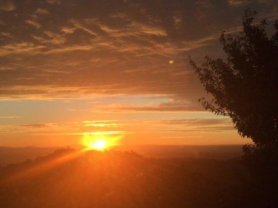 Te Kuiti, New Zealand: View from Triple Panoramic window Room in the Lodge