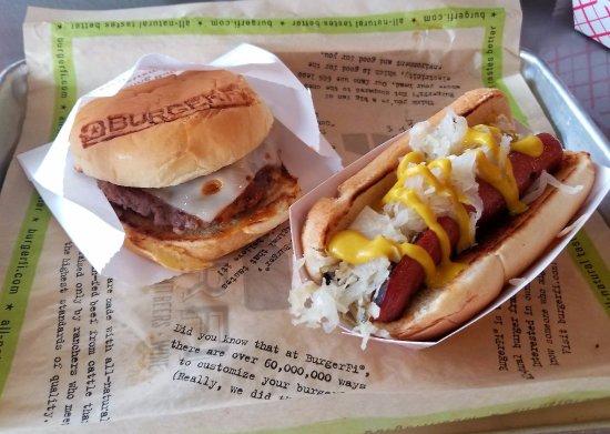 Woodbridge, VA: The CEO Burger & The NY Hot Dog