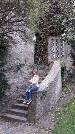Malahide Castle: lateral del castillo