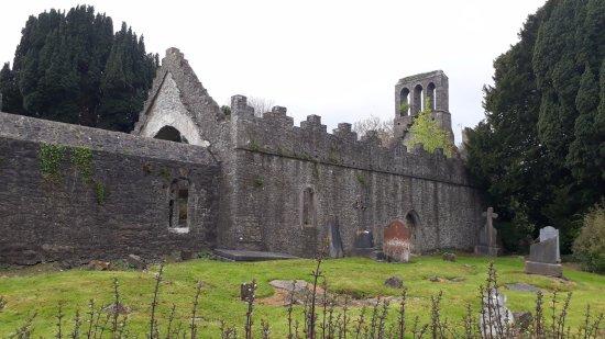 Malahide Castle: lo que queda de una iglesia