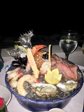 Holetown, Barbados: Sumptuous dinner at The Tides
