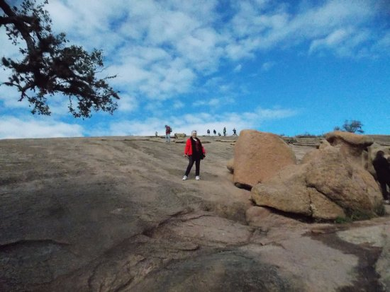 Enchanted Rock State Natural Area: On the top of big rock