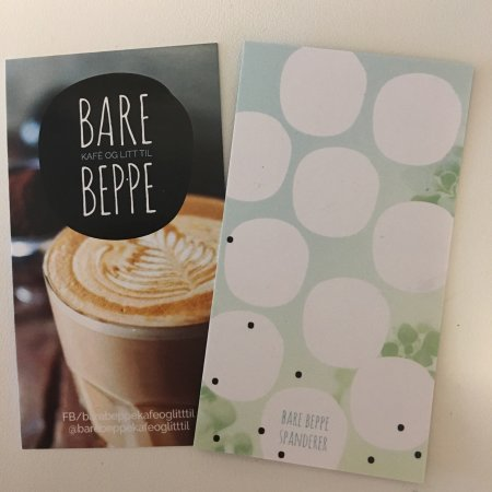 Sandefjord, Noruega: Bare Beppe kafé og litt til