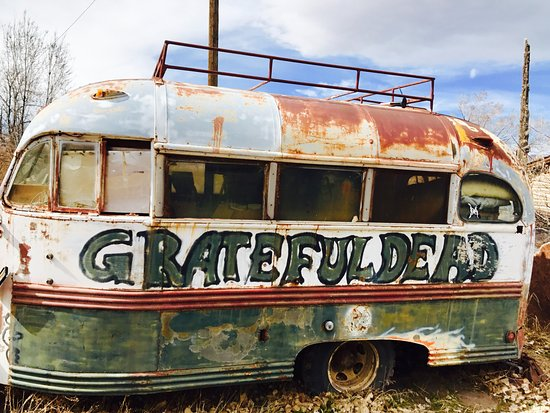 Monroe, UT: An authentic Grateful Dead tour bus