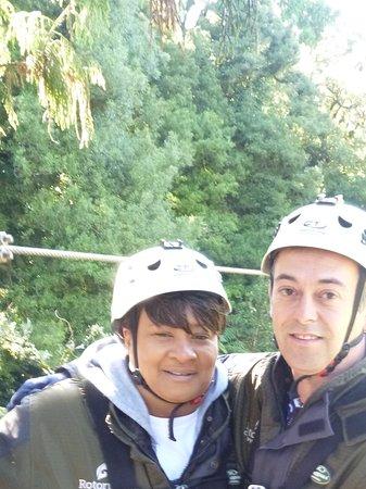 Rotorua Canopy Tours: Beautiful view