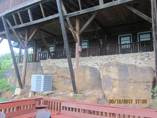 Jasper, AR: porch and deck