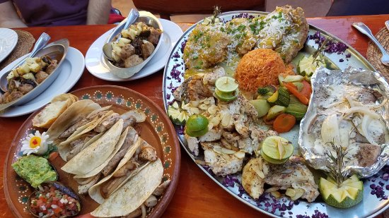 Misiones De Kino: The fish we caught served three different ways!