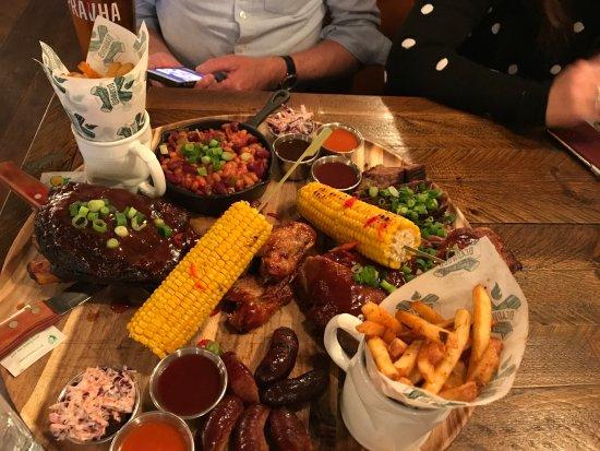 Nantwich, UK: Share Platter for Deux!