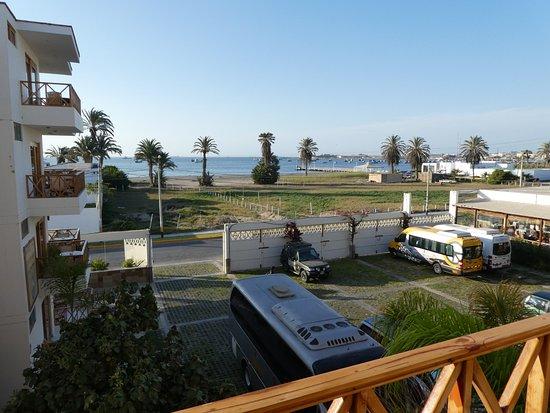 Hotel Emancipador: View From Room